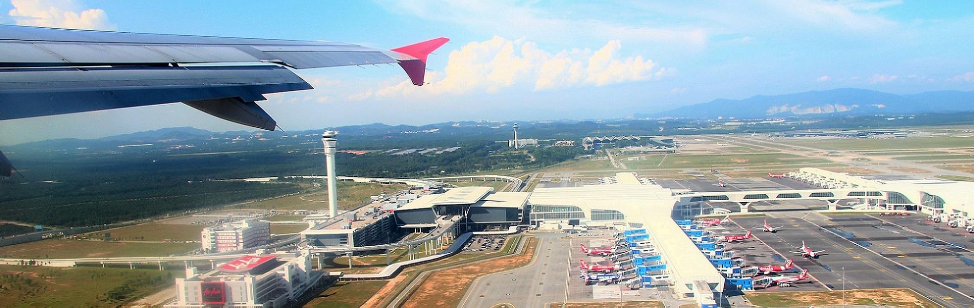 夢の国マレーシアのペナン島の上空より