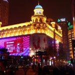 上海の夜は、夜景が美しい