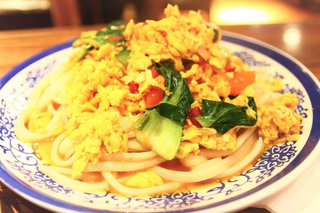上海ヌードル?なのか、麺料理です。