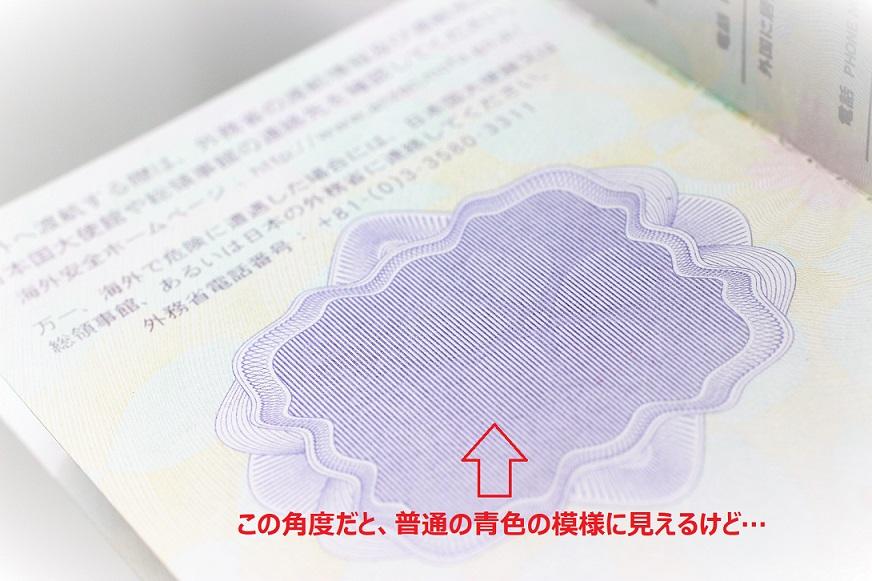 パスポートの最後のページの謎