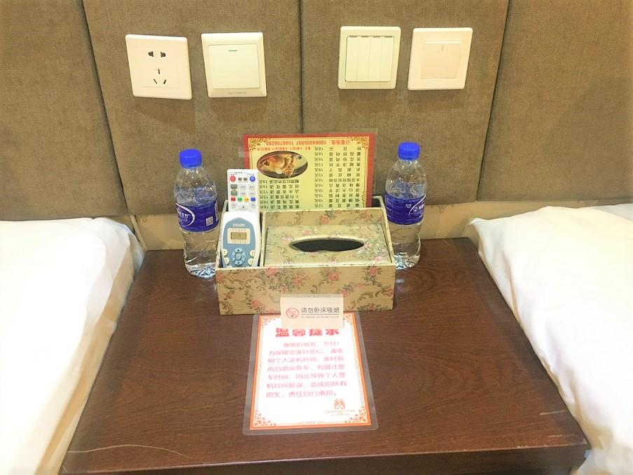遅延で泊まったホテル 中国東方航空が手配してくれた 昆明市にて