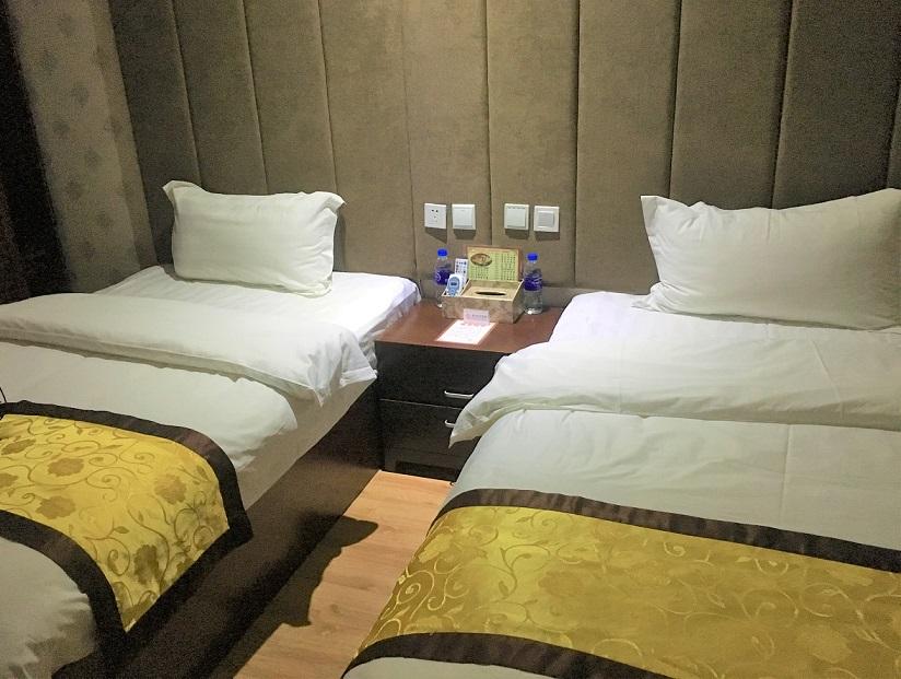 飛行機の遅延で泊まったホテル 中国東方航空