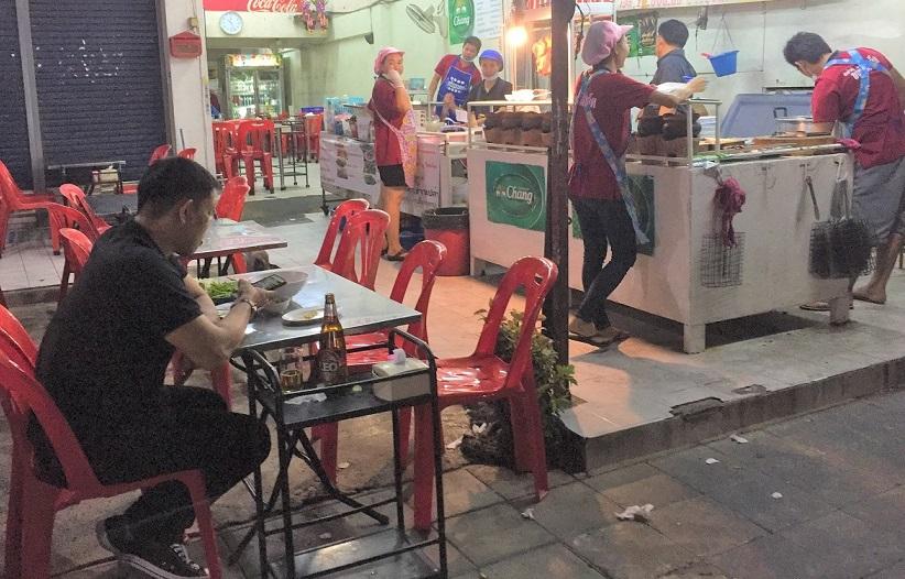 タイの食堂 海外旅行