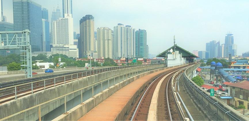 マレーシアの鉄道の写真