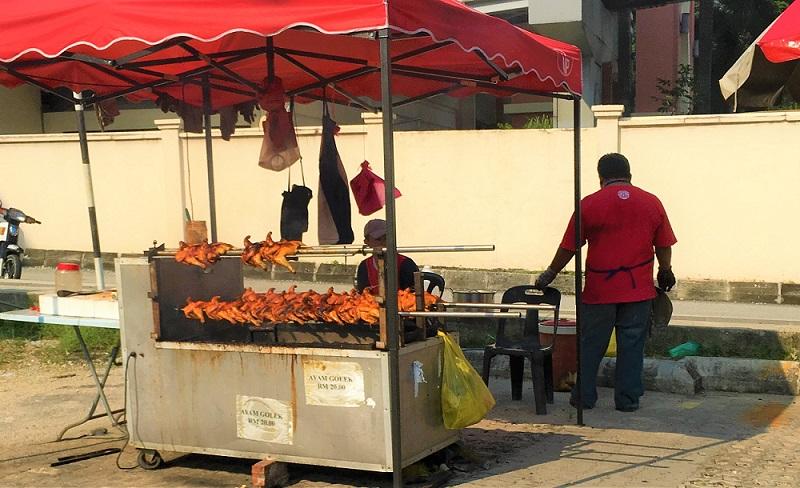 マレーシアのクアラルンプールの焼き鳥やさん