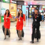 海外旅行はベトナムへ。ホーチミン空港のキャビンアテンダントの写真