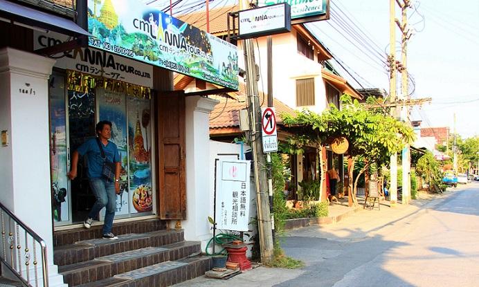 タイのチェンマイの日本語の観光案内所