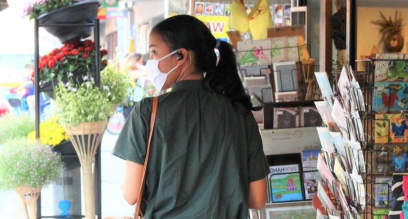 タイ旅行で見つけた、チェンマイ美人の写真。