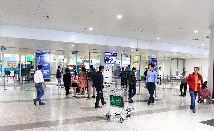 ハノイ(ノイバイ)空港の到着フロアの写真【ベトナム旅行】