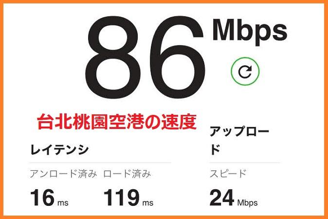 台湾の旅行者向けの遠傅電信のSIMカードの速さ