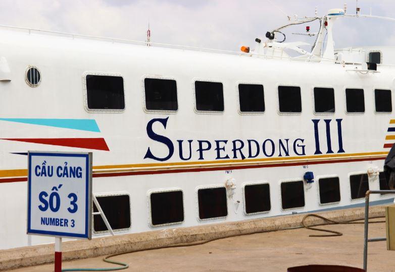ハーティエン港からスーパードンに乗ってフーコック島のバイボン港へ行く!