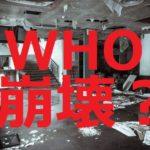 WHOはアメリカからの拠出金中止で崩壊するか