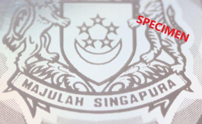 シンガポール10ドル札の透かし