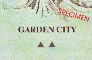 シンガポール5ドル札のテーマはガーデンシティ