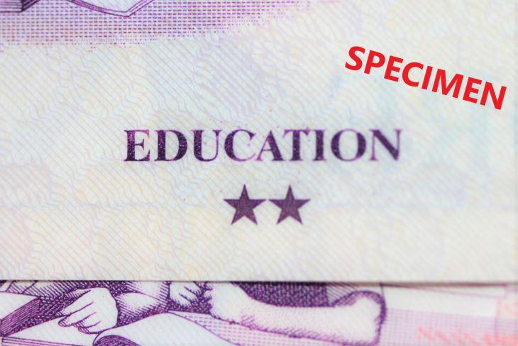 シンガポール2ドル札のテーマは教育