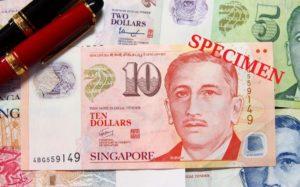 シンガポールのお金10ドル札|小額紙幣も持っておこう