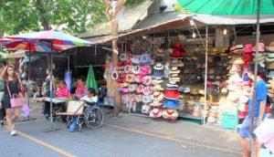バンコクのチャトゥチャックウイークエンドマーケット