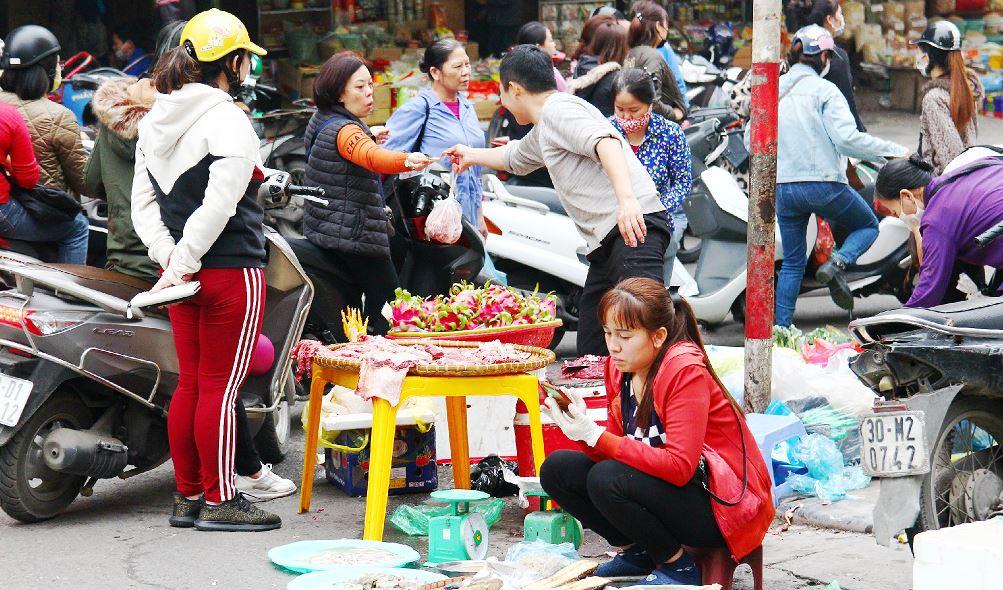 ハノイの旧市街のドンスアン市場|ベトナム旅行