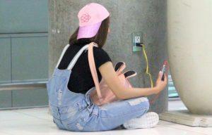 スワンナプーム空港でのスマホの充電方法 タイ旅行