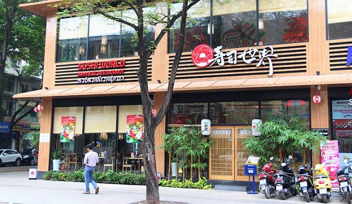 ベトナムで人気の寿司屋|寿司世界ホーチミン店