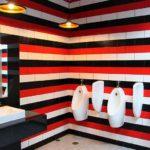 留学にも人気|タイの名門チェンマイ大学の芸術学部キャンパスのトイレの写真