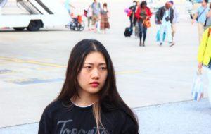 スワンナプーム空港に降り立った中国人美女|タイ旅行