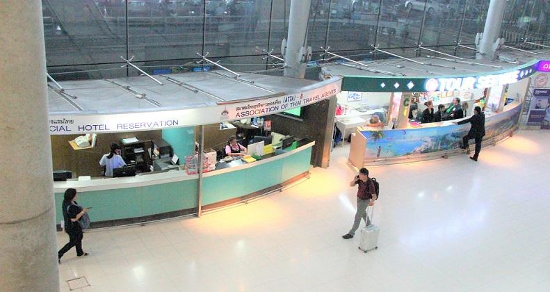 スワンナプーム空港の1階ロビー|タイ旅行