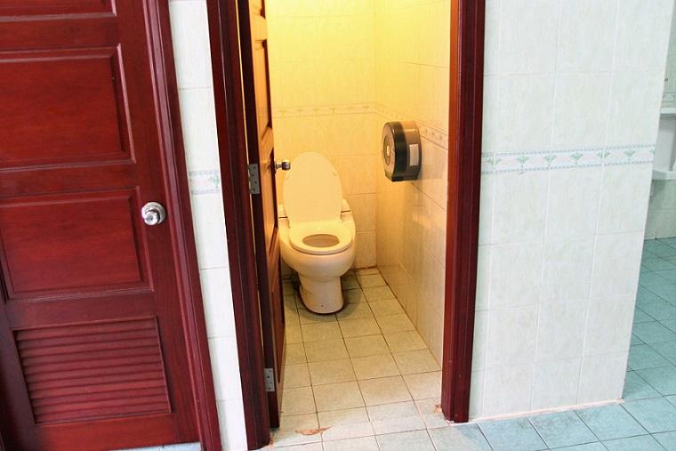大統領のトイレの写真|ベトナム旅行
