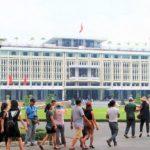 ホーチミン観光では外せない統一会堂の写真|ベトナム旅行