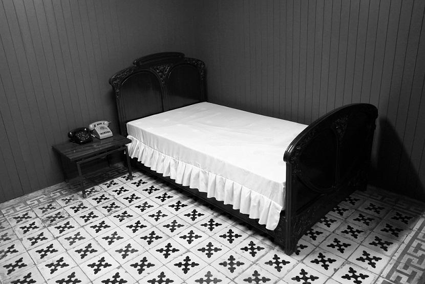 統一会堂の地下にある緊急時用の大統領の仮眠室