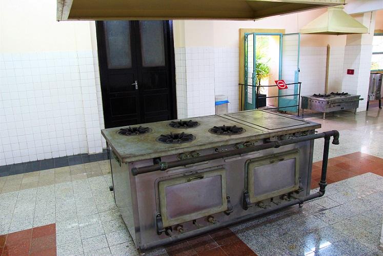 統一会堂の厨房の写真|ホーチミン観光