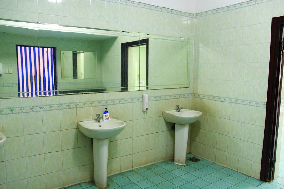 統一会堂のトイレの写真