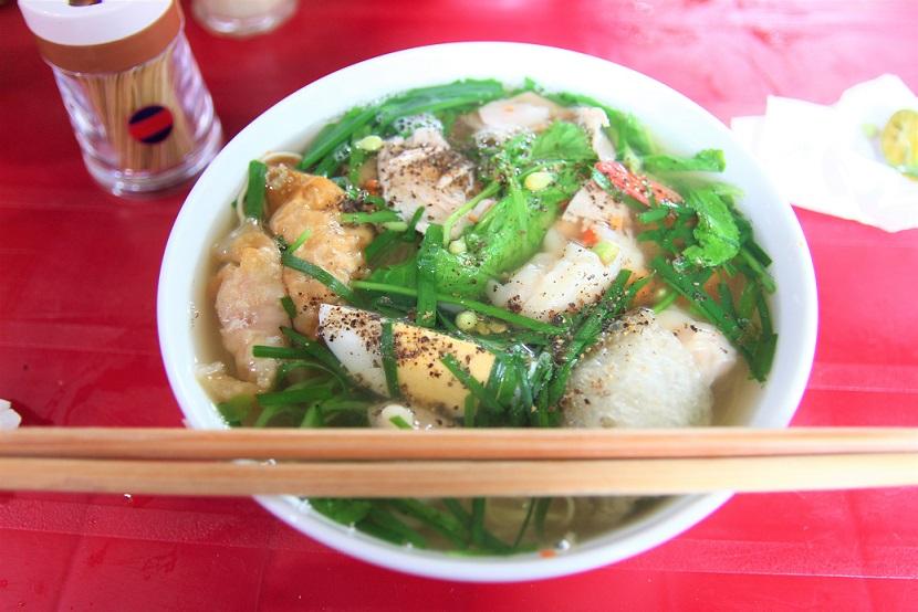 ハノイの旧市街で最も美味しいミーヴァンタン店|格安のベトナム料理、ミーホアインタイン【ベトナム旅行】