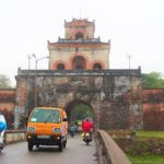 Cửa NGĂNと呼ばれる世界遺産の王宮への城門|ベトナム旅行フエ