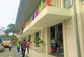 ベトナムのハノイのザーラムバスターミナルのアイコン