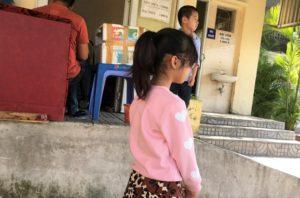 ザーラムバスターミナルで見かけたベトナム人の美少女の写真