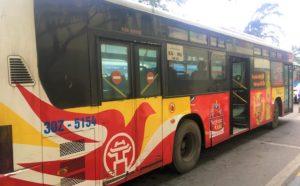 運賃30円の路線バスでザーラムバスターミナルに到着した写真
