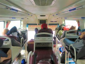 長距離寝台バスで一号線を北上せよ!ならぬ南下する旅の写真