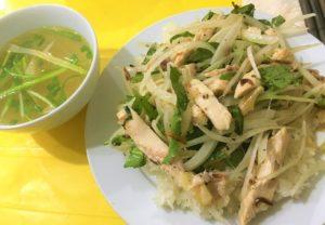 大人気ベトナム料理の蒸し鶏のせご飯Cơm gà hấpの写真